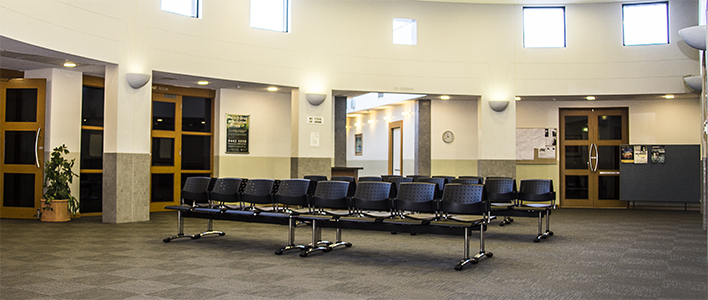 Children's Court waiting area